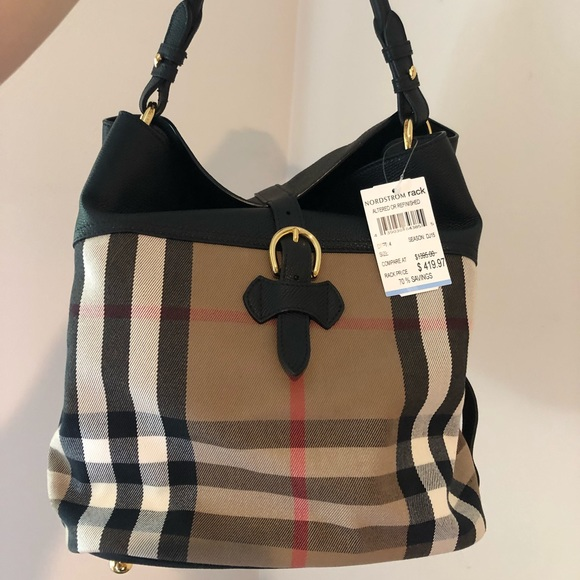 ade93bf20f Burberry Bags | Sold Medium Sycamore Check Print Hobo | Poshmark
